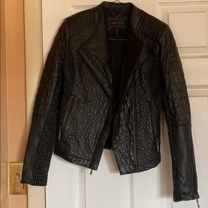 BCBGMAXAZRIA Faux leather jacket